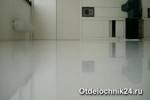 Полимерные наливные полы в квартире