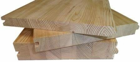 Полы из клеёной древесины