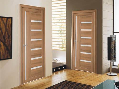царговые двери со стеклом