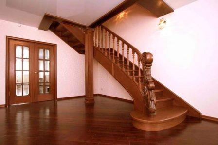 стоимость деревянных лестниц