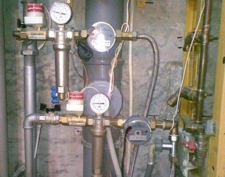 замена стального водопровода