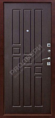 Дверь металлическая одностворчатая