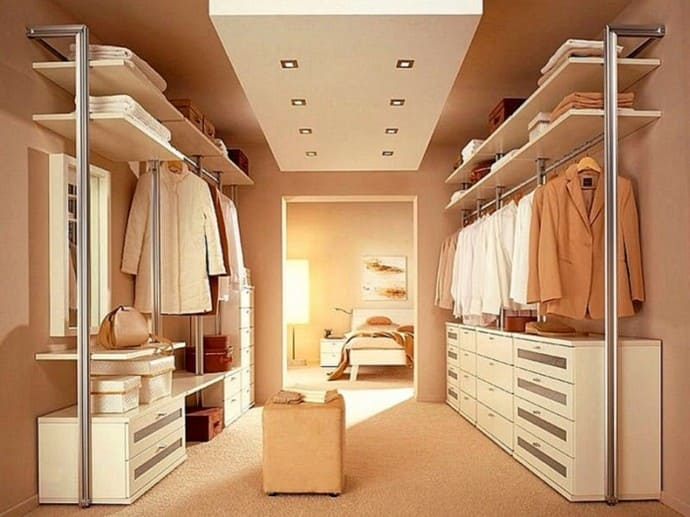 вентиляция гардеробных комнат