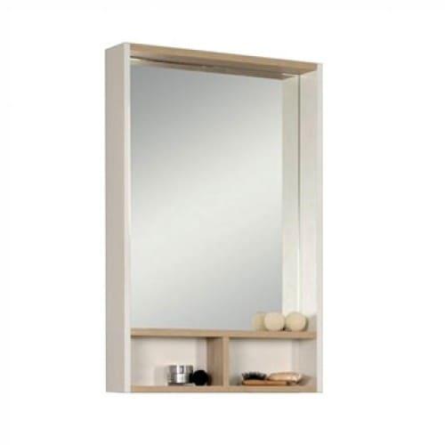 зеркальное полотно с полками